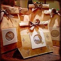 Vasetti di Vanella confezionati sacchetti per aspirapolvere