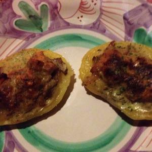 patate ripiene di funghi porcini